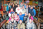 7160-7165.Party - Joe O'Shea from Ballyvelly, seated centre having a ball with family and friends at his 18th birthday bash held in The Huddle Bar on Saturday night...   Copyright Kerry's Eye 2008