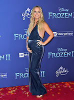 "LOS ANGELES, USA. November 08, 2019: Teddi Mellencamp at the world premiere for Disney's ""Frozen 2"" at the Dolby Theatre.<br /> Picture: Paul Smith/Featureflash"