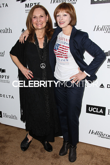 HOLLYWOOD, LOS ANGELES, CA, USA - APRIL 05: Beth Grant, Frances Fisher at the 3rd Annual Reel Stories, Real Lives Benefiting The Motion Picture & Television Fund held at Milk Studios on April 5, 2014 in Hollywood, Los Angeles, California, United States. (Photo by Celebrity Monitor)