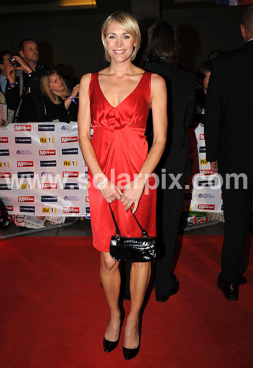 **ALL ROUND PICTURES FROM SOLARPIX.COM**.**WORLDWIDE SYNDICATION RIGHTS**.Red carpet arrivals at the Pride Of Britain Awards. Held at Grosvenor House, Mayfair, London, UK. 5 October 2009..This pic: Jenni Falconer..JOB REF: 10066 SSD     DATE: 05_10_2009.**MUST CREDIT SOLARPIX.COM OR DOUBLE FEE WILL BE CHARGED**.**MUST NOTIFY SOLARPIX OF ONLINE USAGE**.**CALL US ON: +34 952 811 768 or LOW RATE FROM UK 0844 617 7637**