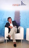CLAUDIO PANATTA ELETTO SINDACO DEL VILLAGGIO.Roma 22/07/2009.13th Fina swimming World Championship.Village Roma 2009.Photo Pool Roma2009.com/Insidefoto/Sea&Sea.