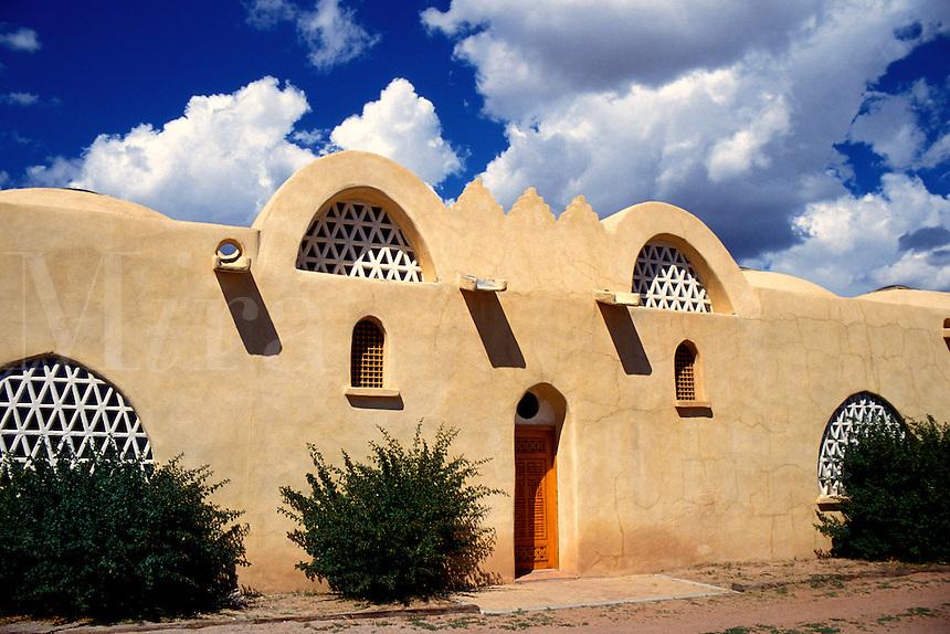 Dar Al Islam Mosque in Abiquiu, New Mexic