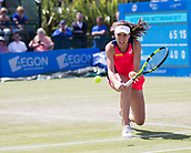 June 15th 2017, Nottingham, England; WTA Aegon Nottingham Open Tennis Tournament day 6;  Johanna Konta of Great Britain defeated Yanina Wickmayer of Belgium in two sets in round two