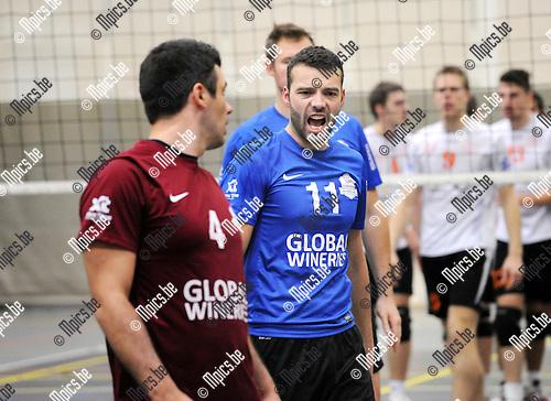 2012-11-03 / Volleybal / seizoen 2012-2013 / Kapellen / Jurgen Masschelein..Foto: Mpics.be