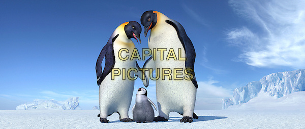 Norma Jean (voiced by NICOLE KIDMAN), young Mumble (voiced by E.G. DAILY) & Memphis (voiced by HUGH JACKMAN).in Happy Feet.*Editorial Use Only*.Ref: FB.www.capitalpictures.com.sales@capitalpictures.com.Supplied by Capital Pictures.