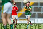 Cian Gammell Kerry in action against  Louth in the All Ireland Minor Football Quarter Finals at O'Moore Park, Portlaoise on Saturday.