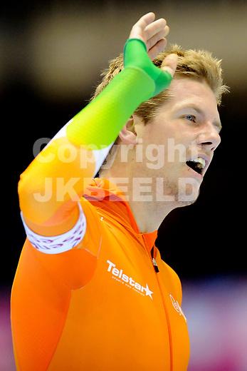 HEERENVEEN - Schaatsen, IJsstadion Tialf, World Cup, 2011-2012, 03-12-2011,  Douwe de Vries