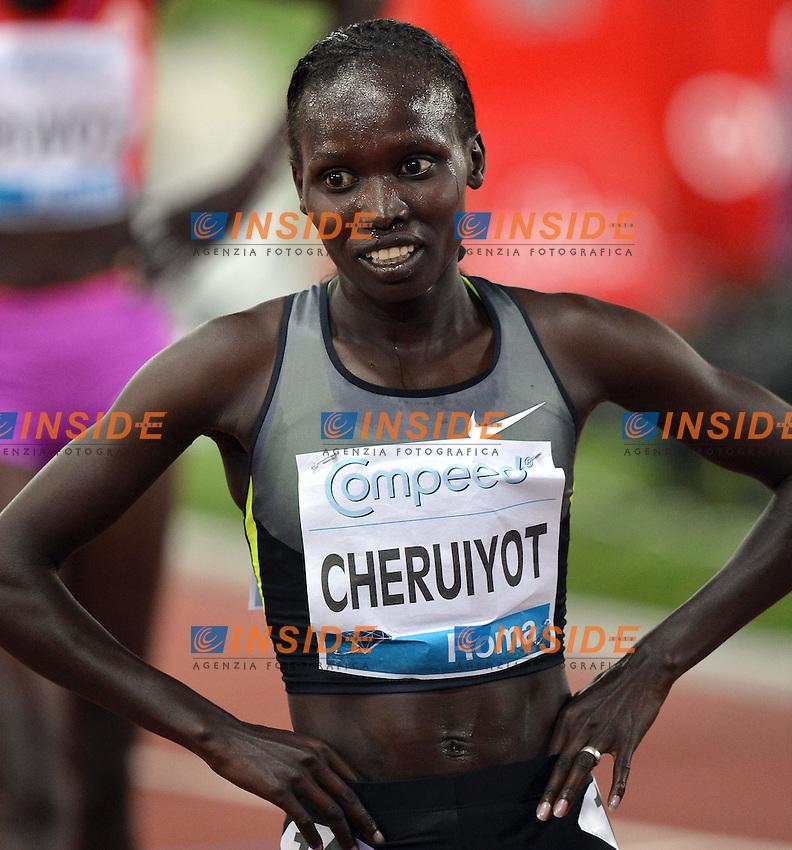 "Vivian Jepkemoi CHERUIYOT Kenya Women's 5000m winner..Roma 31/5/2012 Stadio ""Olimpico""..Atletica Compeed Golden Gala 2012..Track and Fields..Foto Andrea Staccioli Insidefoto"
