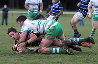 Manawatu v Wanganui. Game of Three Halves pre-season rugby match at Taihape Domain in Taihape, New Zealand on Friday, 27 July 2018. Photo: Dave Lintott / lintottphoto.co.nz