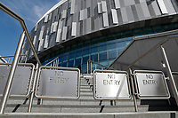 9th May 2020, Tottenham Hotspur Stadium, London, England; The Stadium, home of Tottenham Hotspur, deserted during the lockdown for the Covid-19 virus