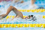 Reo Sakata (JPN), <br /> AUGUST 20, 2018 - Swimming : <br /> Men's 4x200m Freestyle Relay Heat <br /> at Gelora Bung Karno Aquatic Center <br /> during the 2018 Jakarta Palembang Asian Games <br /> in Jakarta, Indonesia. <br /> (Photo by Naoki Morita/AFLO SPORT)