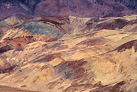 739650007 colored sandstone formations along artist's pallete drive in death valley national park californai