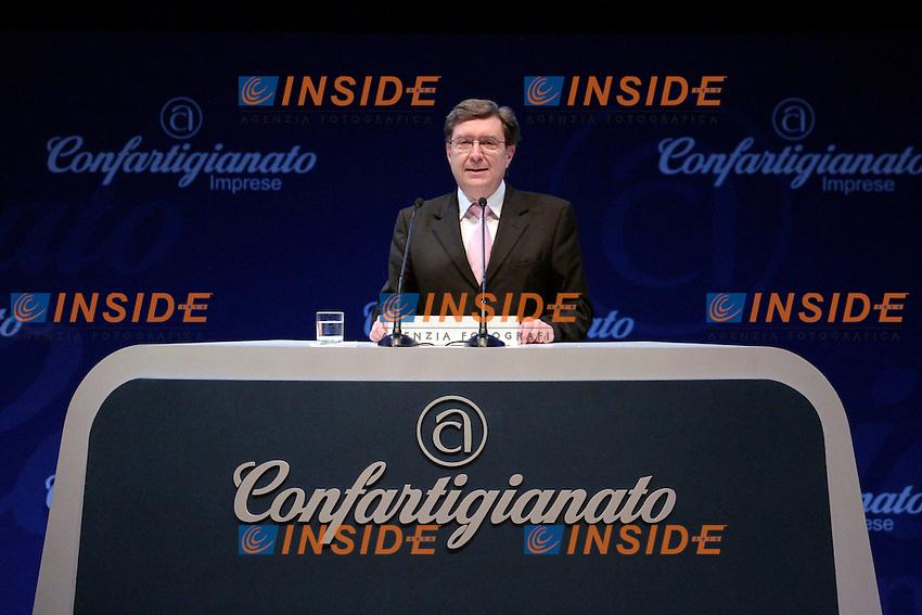 Enrico Giovannini<br /> Roma 11/06/2013 Auditorium della Musica. Assemblea Annuale di Confartigianato.<br /> Photo Samantha Zucchi Insidefoto