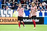 Stockholm 2014-08-31 Fotboll Allsvenskan Djurg&aring;rdens IF - Malm&ouml; FF :  <br /> Malm&ouml;s Markus Rosenberg deppar<br /> (Foto: Kenta J&ouml;nsson) Nyckelord:  Djurg&aring;rden DIF Tele2 Arena Malm&ouml; MFF depp besviken besvikelse sorg ledsen deppig nedst&auml;md uppgiven sad disappointment disappointed dejected