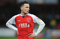 Fleetwood Town's Barrie McKay<br /> <br /> Photographer Kevin Barnes/CameraSport<br /> <br /> The EFL Sky Bet League One - Fleetwood Town v Peterborough United - Saturday 15th February 2020 - Highbury Stadium - Fleetwood<br /> <br /> World Copyright © 2020 CameraSport. All rights reserved. 43 Linden Ave. Countesthorpe. Leicester. England. LE8 5PG - Tel: +44 (0) 116 277 4147 - admin@camerasport.com - www.camerasport.com