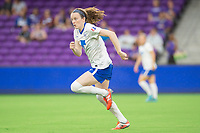 Orlando, FL - Saturday June 03, 2017: Rose Lavelle during a regular season National Women's Soccer League (NWSL) match between the Orlando Pride and the Boston Breakers at Orlando City Stadium.