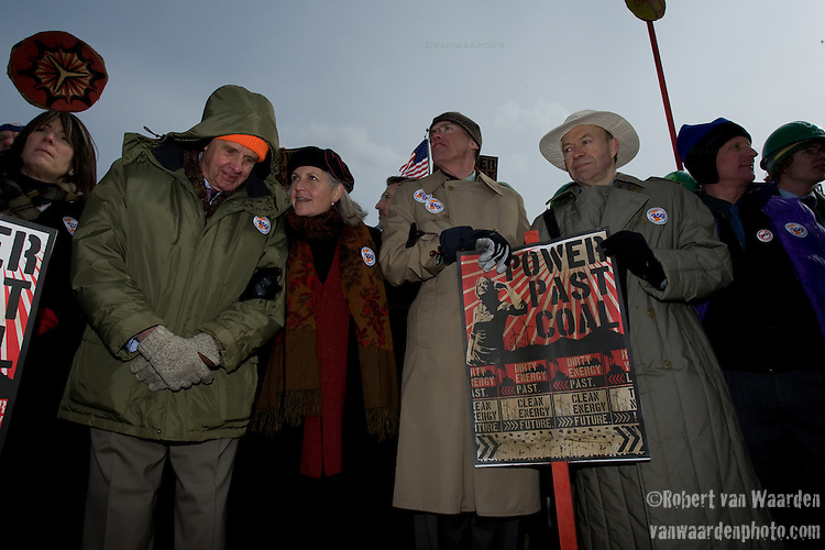 High Profile individuals at the Capitol Coal Action in Washington, D.C. - ©Robert vanWaarden ALL RIGHTS RESERVED
