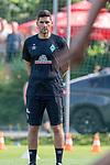 04.07.2019, Parkstadion, Zell am Ziller, AUT, TL Werder Bremen - Tag 00<br /> <br /> im Bild / picture shows 1. Training im TL Zillertal am Mittwoch abend<br /> <br /> Marcel Abanoz (Athletik-Trainer / Reha-Trainer Werder Bremen)<br /> <br /> Foto © nordphoto / Kokenge