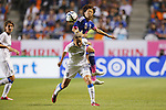 (L-R) Martina Rosucci (ITA), Aya Miyama (JPN), MAY 28, 2015 - Football / Soccer : KIRIN Challenge Cup 2015 match between Japan 1-0 Italy at Minaminagano Sports Park, <br /> Nagano, Japan. (Photo by Yusuke Nakansihi/AFLO SPORT)