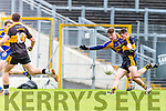 Kieran O'Leary Dr Crokes pulls the trigger to score Crokes first goal against Kenmare  during the SFC final in Fitzgerald Stadium on Sunday