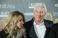 Alejandra Silva and US actor Richard Gere attend `Invisibles´ film premiere in Madrid, Spain. November 23, 2015. (ALTERPHOTOS/Victor Blanco)