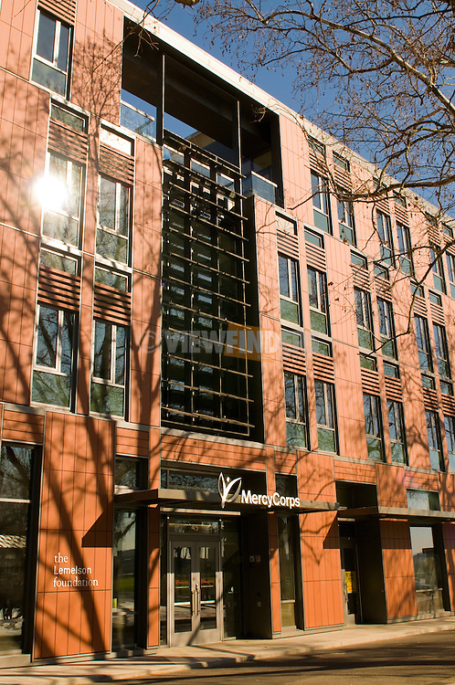 Mercy Corps Building, Portland, Oregon