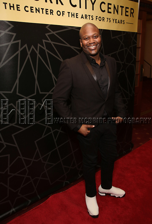 "Tituss Burgess attends the New York City Center Celebrates 75 Years with a Gala Performance of ""A Chorus Line"" at the City Center on November 14, 2018 in New York City."