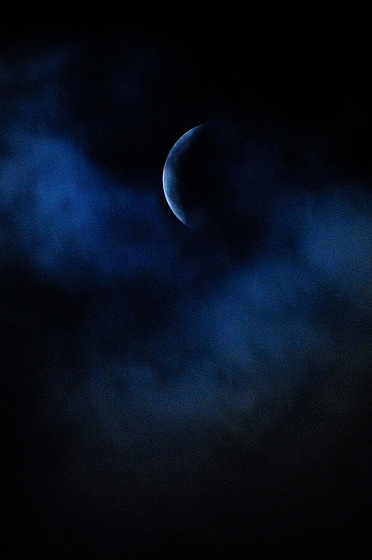 Superluna de sangre de lobo / eclipse de luna, 21 de enero de 2019.<br /> <br /> Edición de 10 | Víctor Santamaría.
