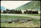 D&amp;RGW #476 &amp; #478 at Silverton, CO.<br /> D&amp;RGW  Silverton, CO