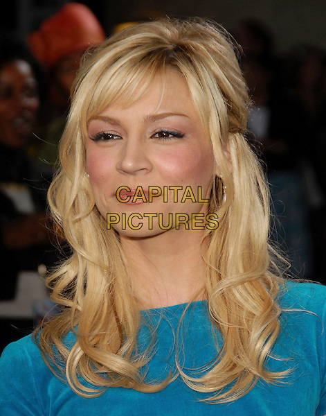 """SAMAIRE ARMSTRONG.The Twentieth Century Fox Premiere of """"Just My Luck"""" held at The Mann National Theater in Westwood, California, USA..May 9th, 2006.Ref: DVS.headshot portrait .www.capitalpictures.com.sales@capitalpictures.com.Supplied By Capital PIctures"""