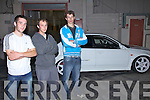 REF SINEAD....Some of the faces behind the successful AMF Slideways Performance held in Cahersiveen on Saturday night, pictured here l-r; Alan Cournane, Francois Clees & Mathew Beardges...