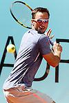 Viktor Troicki, Serbia, during Madrid Open Tennis 2016 match.May, 2, 2016.(ALTERPHOTOS/Acero)