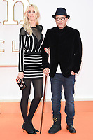 Director Matthew Vaughn &amp; wife Claudia Schiffer at the world premiere for &quot;Kingsman: The Golden Circle&quot; at the Odeon and Cineworld Leicester Square, London, UK. <br /> 18 September  2017<br /> Picture: Steve Vas/Featureflash/SilverHub 0208 004 5359 sales@silverhubmedia.com