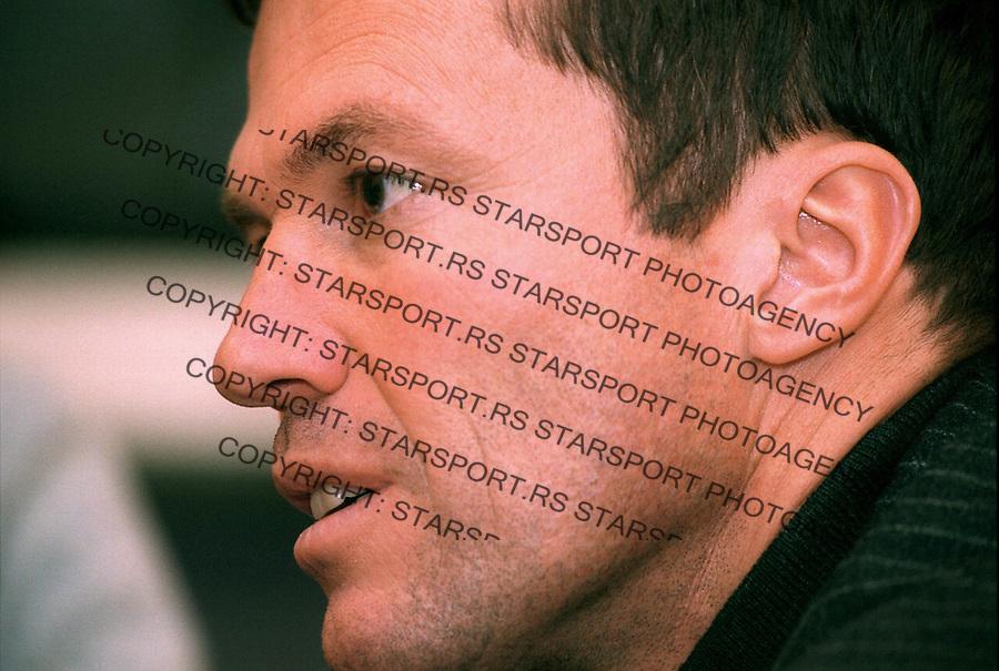 SPORT FUDBAL PARTIZAN Lothar Matthaus Lotar Mateus, 30.10.2003.&amp;#xA;foto: Pedja Milosavljevic<br />