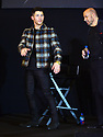 AVENTURA, FL - NOVEMBER 14: Musician and actor Nick Jonas and designer John Varvatos speak on stage during the launch of their fragrance collaboration, JVxNJ Silver Edition, at Macy's Aventura on November 14, 2019 in North Miami, Florida.  ( Photo by Johnny Louis / jlnphotography.com )