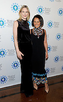 NEW YORK, NY - OCTOBER 27: Stephanie March and  Alina Cho attends the World of Children Awards Ceremony at 583 Park  on October 27, 2016 in New York City. Photo by John Palmer/ MediaPunch