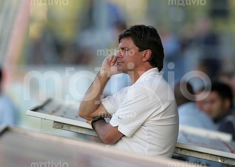 Fussball International Testspiel FC St. Gallen - Hertha BSC Berlin Hertha Trainer Falko Goetz
