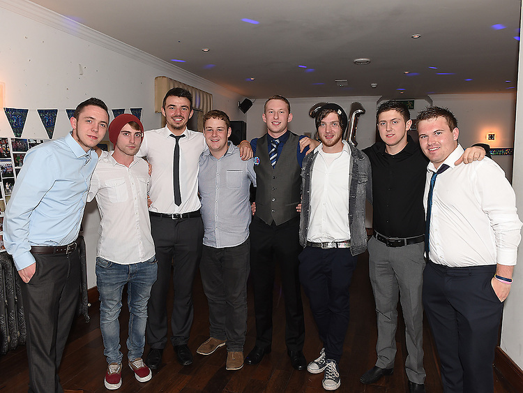 Sean Casey celebrating his 21st birthday in McHughs with friends. Photo:Colin Bell/pressphotos.ie
