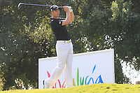 Ross Fisher (ENG) during the final day of the  Andalucía Masters at Club de Golf Valderrama, Sotogrande, Spain. .Picture Denise Cleary www.golffile.ie