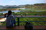 Me Linh Coffee Garden. Dalat, Vietnam. April 19, 2016.