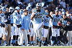 30 November 2013: UNC's Eric Ebron. The University of North Carolina Tar Heels played the Duke University Blue Devils at Keenan Memorial Stadium in Chapel Hill, NC in a 2013 NCAA Division I Football game. Duke won the game 27-25.