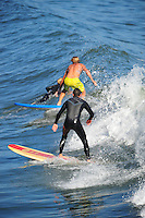 Sept. 6, 2011 - Capitola, California - U.S. - Capitola, California is bursting with stun, surf, tourists and locals  Monday September 5, 2011.  (Credit Image: Alan Greth).
