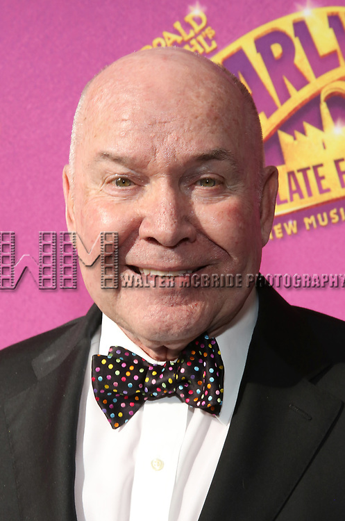 Jack O'Brien attends the Broadway Opening Performance of 'Charlie and the Chocolate Factory' at the Lunt-Fontanne Theatre on April 23, 2017 in New York City.