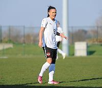 U19 Belgian Red Flames - Austria :<br /> <br /> Claudia Wasser<br /> <br /> foto Dirk Vuylsteke / Nikonpro.be
