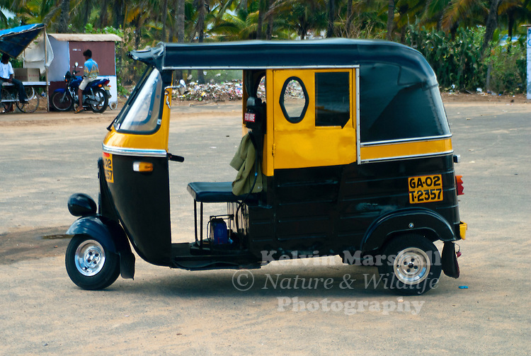 An auto rickshaw (auto or rickshaw or tempo or tuk-tuk in popular parlance) is a vehicle for hire that is one of the chief modes of transport in India, Pakistan, Nepal, Bangladesh and Sri Lanka and is popular in many other countries. It is a motorized version of the traditional rickshaw, a small two- or three-wheeled cart pulled by a person, and the velotaxi.