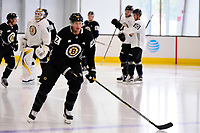 September 15, 2017: Boston Bruins center David Backes (42) skates during the Boston Bruins training camp held at Warrior Ice Arena in Brighton, Massachusetts. Eric Canha/CSM