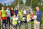 LEARNING FROM THE MASTER: Students at Listowel Community College learn footballing skills from Kerry manager, Jack O'Connor at the school last Friday, front l-r: Megan Feeley, Alex Enright, Stephen Foran, Josh Lyons, Michea?l Mullen, James Relihan. Back l-r: Emma Ryan, Shane Brennan, Donal Keane, Kevin Brouder, Jack Kingston, Gavin Stack, Jack Barrett, Sean McCarthy (Principal).