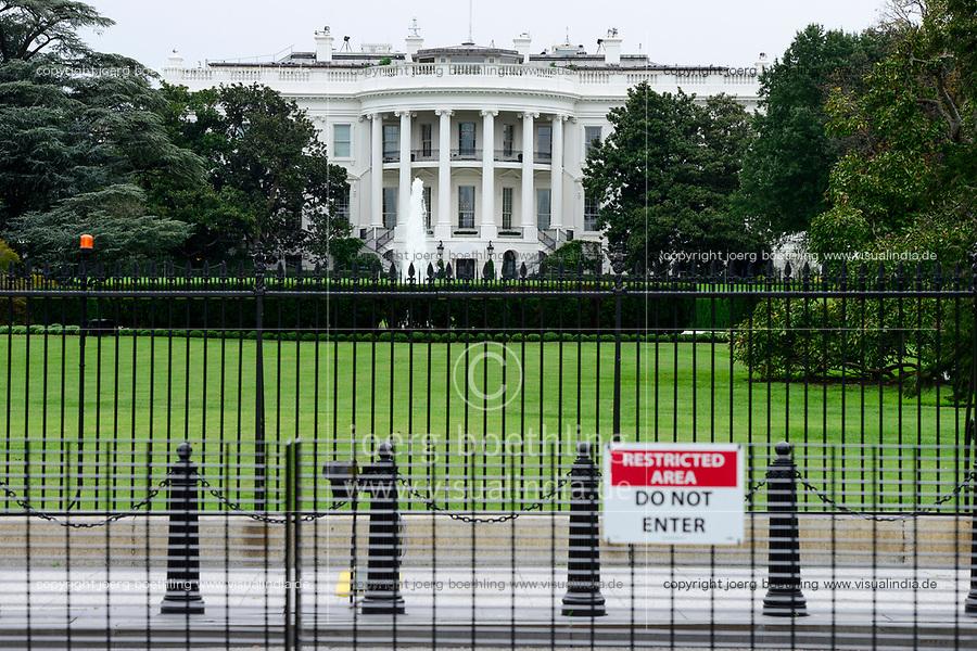 USA, Washington, White House, oval office of US president