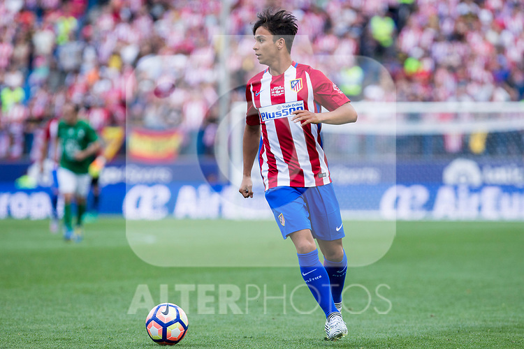 Oliver Torres during the last match to be played by Atletico de Madrid at Vicente Calderon Stadium in Madrid, May 28, 2017. Spain.. (ALTERPHOTOS/Rodrigo Jimenez)