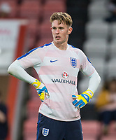 Goalkeeper Dean Henderson (Shrewsbury Town (on loan from Manchester United) of England U21 ahead of the FIFA World Cup qualifying match between England and Slovakia at Wembley Stadium, London, England on 4 September 2017. Photo by PRiME Media Images.